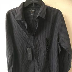 New Men's Marc Anthony Slim Fit Dress Shirt